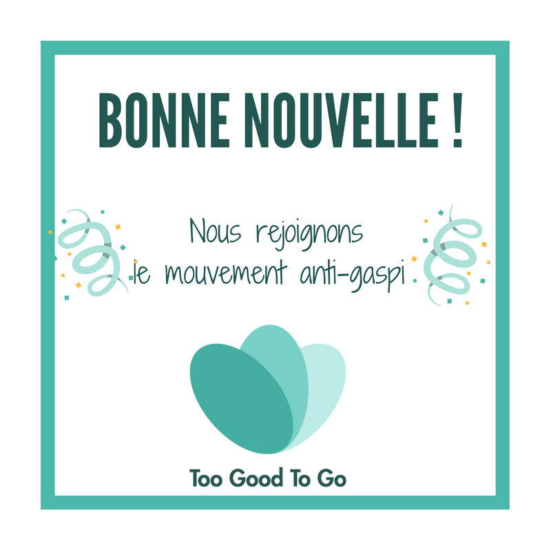 Le magasin a rejoint le programme Too Good To Go